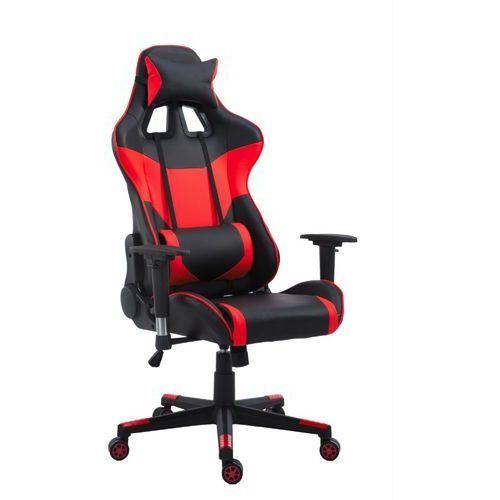 Fotel gamingowy racer pro czerwony marki Ehokery.pl