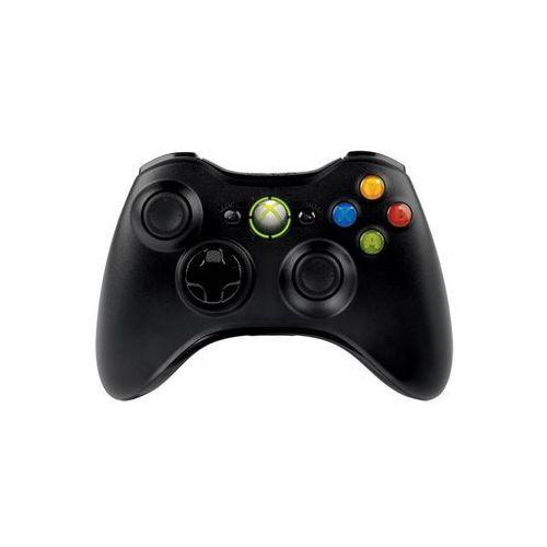 Kontroler MICROSOFT Bezprzewodowy Czarny (Xbox360/PC)