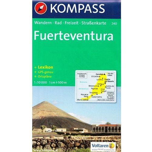 Fuerteventura mapa 1: 50 000 Kompass