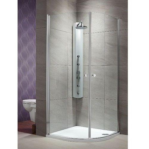 eos pdd 100 x 100 wys. 197 cm szkło przejrzyste 37623-01-01n marki Radaway