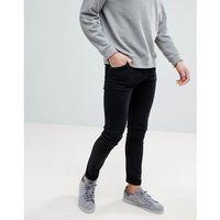 form tuned black super skinny jeans - black, Weekday