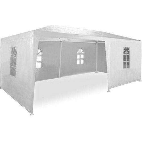 Biały pawilon ogrodowy 3x6 6 ścian namiot handlowy - biały marki Makstor.pl. Najniższe ceny, najlepsze promocje w sklepach, opinie.