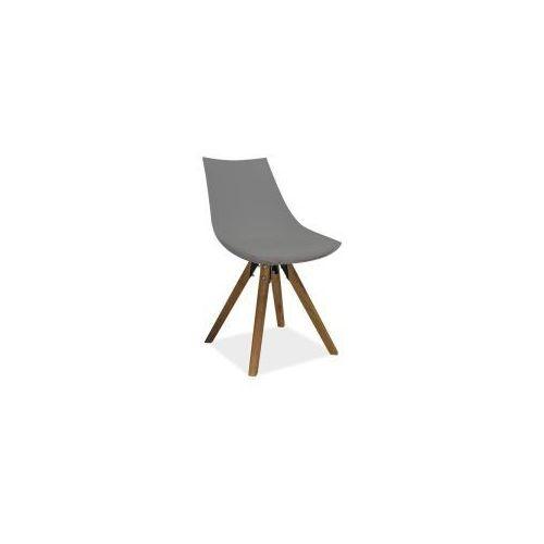 Krzesło Signal LENOX szare - styl skandynawski, Signal