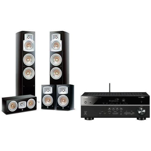 Yamaha Kino domowe rxv483 + ns555 + ns333 + nsc444 czarny