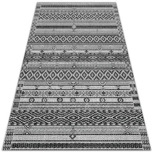 Dywanomat.pl Tarasowy dywan zewnętrzny tarasowy dywan zewnętrzny geometryczne romby