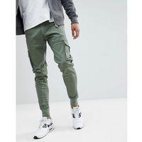 Blend Cargo Trousers - Green, kolor zielony