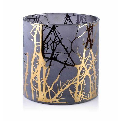 Sofa.pl Odette gold świecznik 15xh15cm