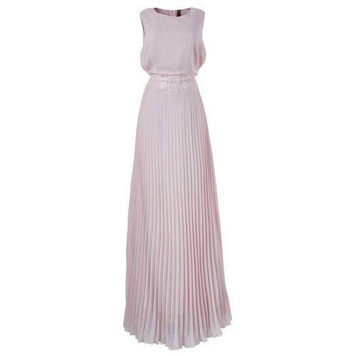 Sukienka plisowana bonprix w kolorze bzu