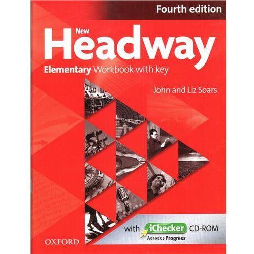 Headway 4E Elementary Workbook with key with iChecker, Oxford University Press