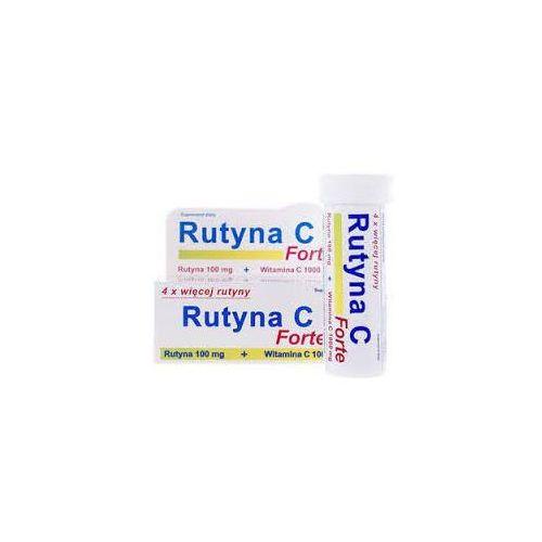 Rutyna c forte smak pomarańczowy x 10 tabletek musujących marki Uniphar sp. z o.o.