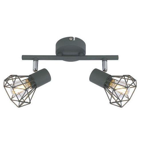 LAMPA sufitowa VERVE 92-60976 Candellux metalowa OPRAWA listwa SPOT reflektorki drut loft szary (5906714860976)
