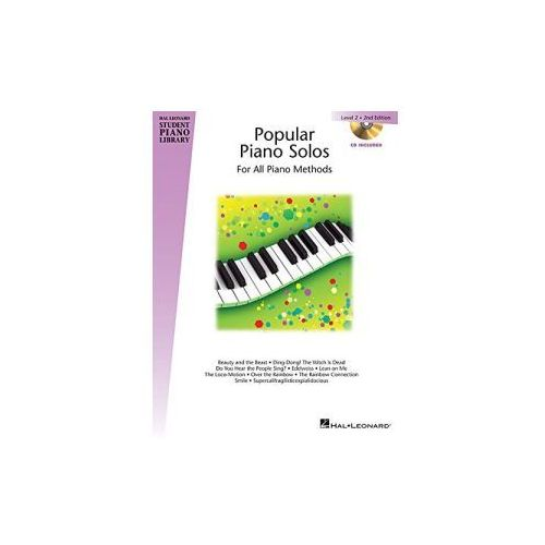 Hal Leonard Student Piano Library: Popular Piano Solos. 2nd Edition. Level 2
