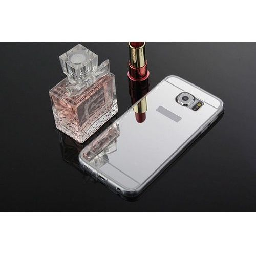 case srebrny | etui dla samsung galaxy s6 - srebrny marki Slim mirror