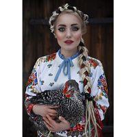 Bluza z nadrukiem White Folklore
