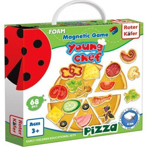 Roter kafer Young chef - pizza - gra magnetyczna - darmowa dostawa kiosk ruchu (4820174842208)
