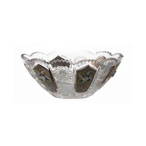 32810 Półmisek 500k platyna, szkło kryształowe bezbarwne, średnica 180 mm