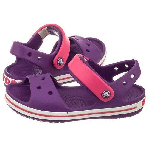 Sandałki crocband sandal kids amethyst/paradise pink 12856-54o (cr39-k) marki Crocs