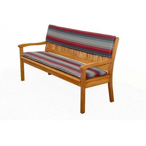 Doppler siedzisko na ławki ciemnoszare/czerwone (9003034131437)