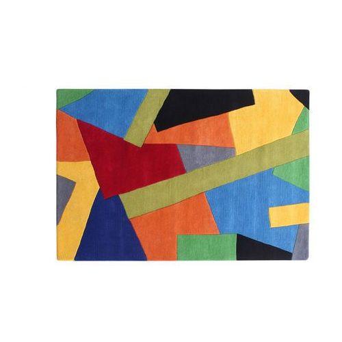 Vente-unique Dywan cubisme - 100% wełny ręcznie tuftowanej - 160 * 230 cm