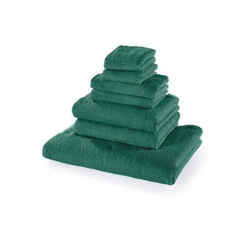 Komplet ręczników (7 części) bonprix zielony