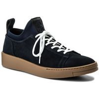 Sneakersy - f855sn136l56 bleu marine 76, Kenzo, 40-45