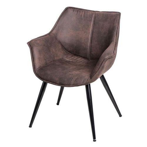 Krzesło Lord - brązowy ciemny (5902385707992)