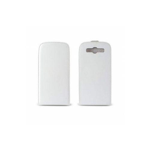 KSIX Etui FLIP UP dedykowane do Samsung Galaxy SIII - białe Odbiór osobisty w ponad 40 miastach lub kurier 24h - produkt z kategorii- Futerały i pokrowce do telefonów