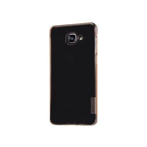ETUI NILLKIN NATURE SILIKON 0.6MM SAMSUNG Galaxy A5 (2016) A5100 A510F Brown - Brązowy