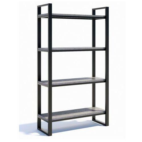 Metalowy regał na książki beton - isumi 3x marki Producent: elior