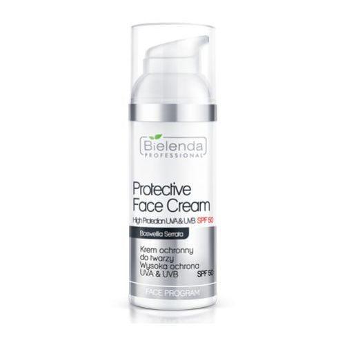 protective face cream spf 50 krem ochronny do twarzy z filtrem spf50 - 100 ml marki Bielenda professional