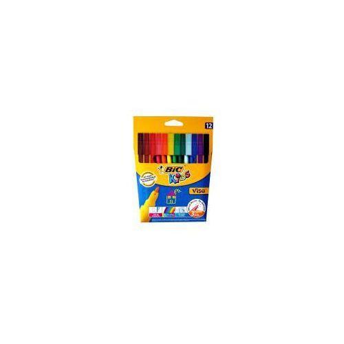 Bic Flamastry kids visa 12 kolorów (3270220002758)