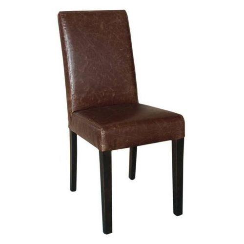 Krzesło brązowe | 2 szt., kolor brązowy