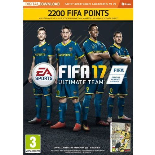 Electronic arts Fifa 17 points - 2200 punktów