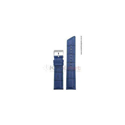 Pasek Hirsch Princess 20 mm - jasny granat, kolor niebieski