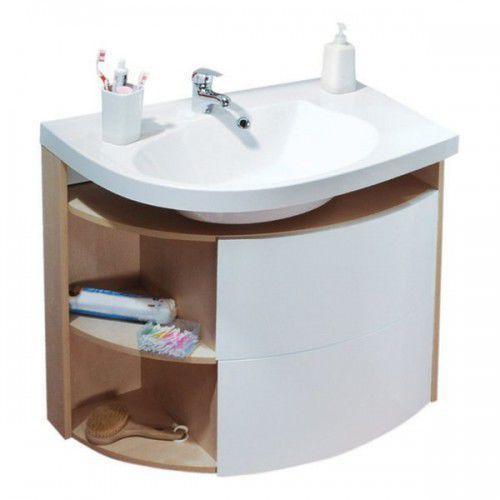 Ravak Szafka podumywalkowa SDU Rosa Comfort P biała/cappuccino X000000946, X000000946