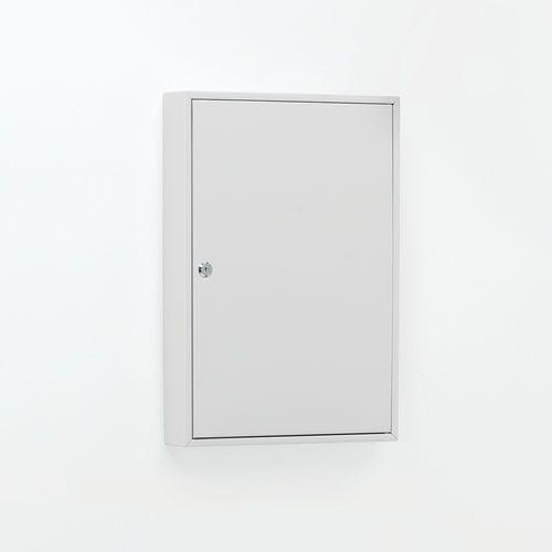 Szafka na klucze, 50 haczyków, 550x380x80 mm marki Aj produkty