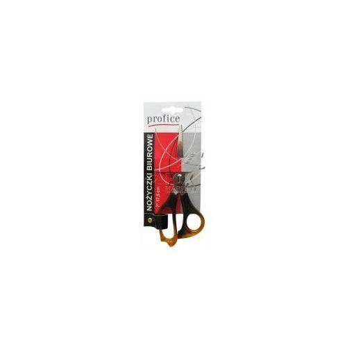 Nożyczki bursztynowe biurowe PROFICE 17,5 cm, P411