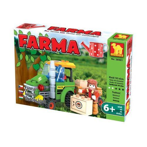 Dromader FARMA Traktor z przyczepą 28401