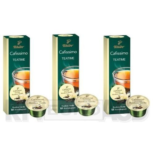 Tchibo Cafissimo Teatime Rooibos Vanilla (3 opakowania)