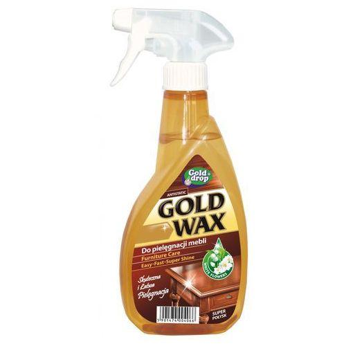 Gold drop Antystatyczny płyn do czyszczenia i pielęgnacji mebli gold wax 400ml