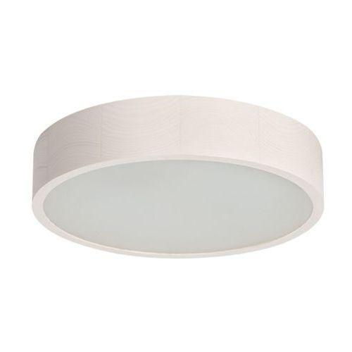 Plafon Kanlux Jasmin 370-W 23124 lampa sufitowa 2x60W E27 biały, 23124