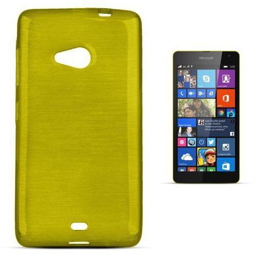 """""""Jelly Brush Lumia 535"""" (Green), kolor zielony"""