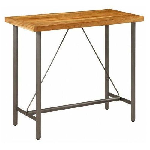 Stolik barowy z drewna tekowego – Maxel