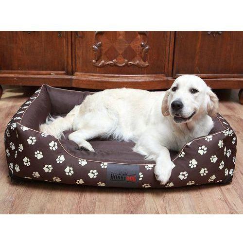 Xxl legowisko prestiż - brąz w łapki marki Hobbydog