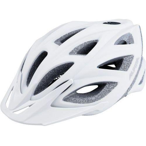 Alpina seheos l.e. kask rowerowy biały 51-56cm 2018 kaski rowerowe (4003692260246)