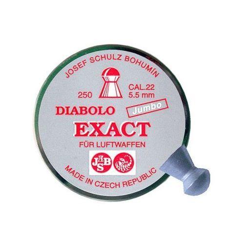śrut 5,51 mm JSB EXACT JUMBO 250 szt. (EXA5,51)