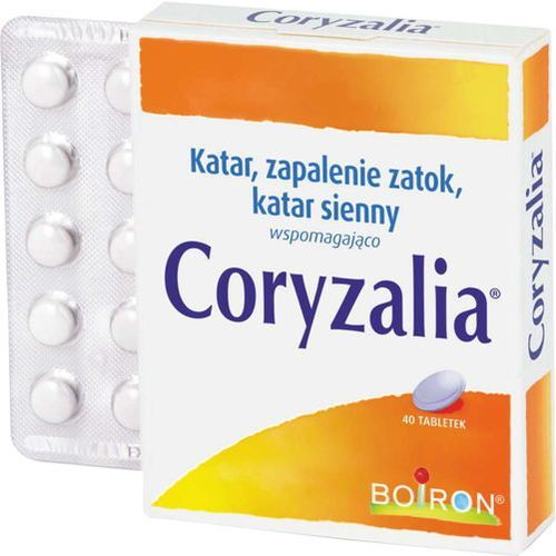 Boiron Coryzalia x 40 tabletek