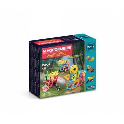 Klocki Magneryczne Magformers Magic Pop Set 25