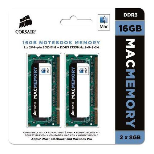 Corsair pamięć operacyjna do laptopa z certyfikatem Apple