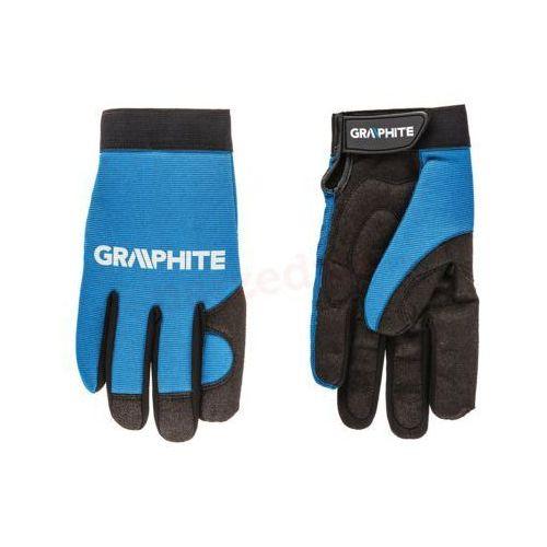 Rękawice robocze czarno-niebieski (rozmiar 10) marki Graphite